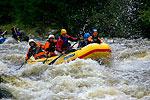 rafting on Vltava